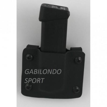 Funda Cargador Glock 17-19-26 Exterior Kydex