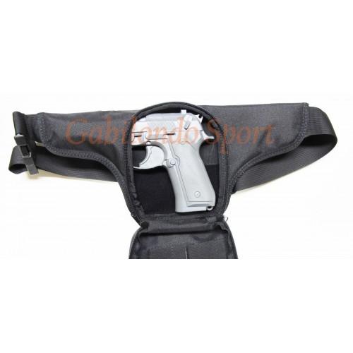 Riñonera porta arma nylon