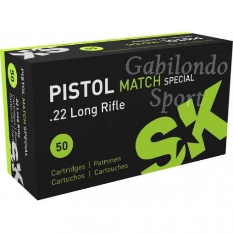 Munición SK Pistol Match Special 22 L.R.
