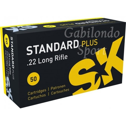 Munición SK Standar Plus 22 L.R.