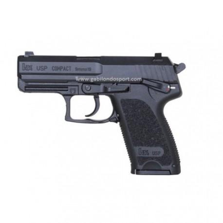 Pistola H.K. USP Compact 9PB.