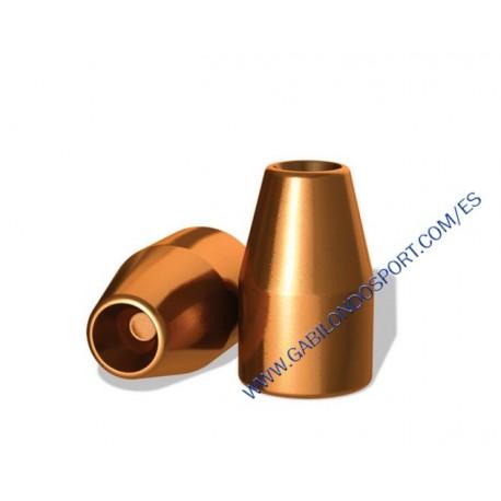 """Puntas H&N 9PB. 356"""" HP HS 100 gr. (100 unds)"""