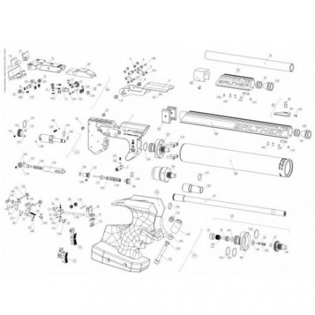 Despiece Walther LP400