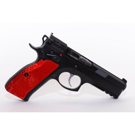 Cachas CZ 75 SP01 M-Arms aluminio rojo