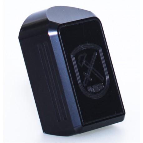 Base cargador CZ +2 aluminio M-Arms Negro