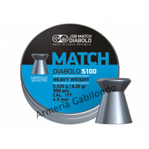 JSB Match Diabolo S100