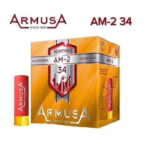 Cartuchos Armusa AM-2 de 34 g