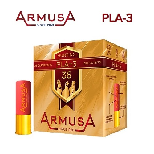 Cartuchos Armusa PLA-3 36 g