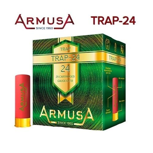 Cartuchos Armusa TRAP-24