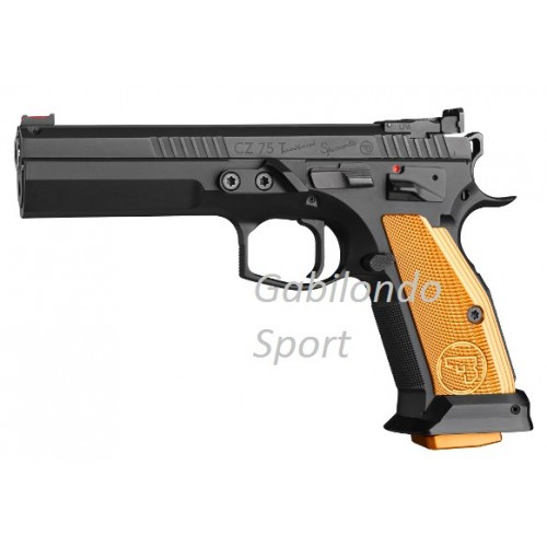 Pistola CZ 75 Tactical Sport Orange 40 S&W