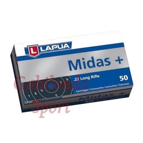 Munición Lapua Midas + 22 L.R.