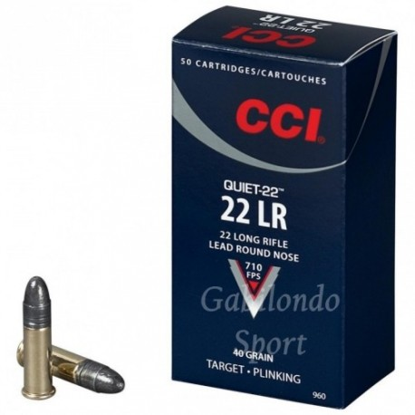 Munición CCI Standard 22 L.R.