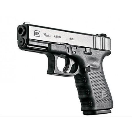 Pistola Glock 19 4ª Gen. Cal. 9X19